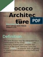 Rococo architecture