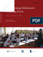 Transforming Indonesia's Teaching Force - Vol I
