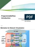 ProgrammableFlow Intro - Sep2011