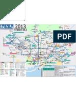 Mapa Metro Barcelona Accesibilidad