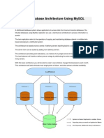 Distributed Database Architecture Using MySQL Replication