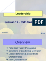 Session10 LD11 PathGoal Theory of Leadership