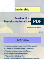 Session12 LD11 Transformationl Leadership