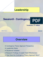 Sessioon9 LD11 Contingency Theory of Leadership