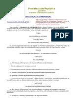 Lei 10180-2001 Organização do Orçamento, Administração Financeira e Contabilidade