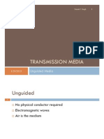 Topic 8 - Transmission Media (Unguided)