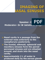 Imaging of Paranasal Sinuses Kn