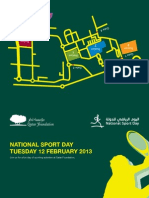 Qatar Foundation National Sport Day Flyer Eng