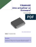 Actualizar Firmware