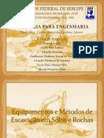 Seminário de Geologia (Escavações)