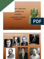 Cultura de la época de Amarna - Religión y mundo funerario