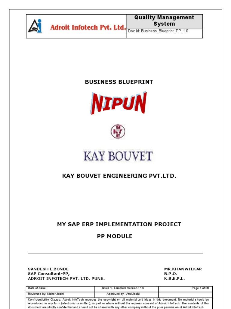 Sap Fico Blueprint Pdf