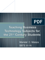 teaching business technology subjects for the 21st-malaza
