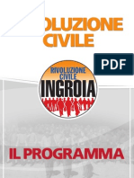 Programma Rivoluzione Civile Ingroia