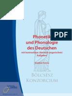 Phonetik Und Phonologie Des Deutschen