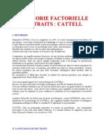 4 La Thorie Factorielle Des Traits Cattell