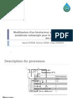 modélisation d'un bioréacteur