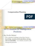 PGDM 2012 Compensation Planning