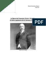 La figura de Franscesc Ferrer i Guàrdia