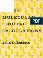 Notes on Molecular Orbital Calculation