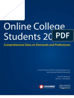 Online College Students 2012