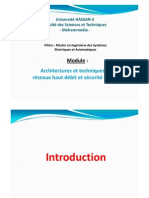 Fstm-Réseaux Haut Débit-1-Introduction