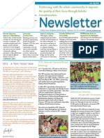CFK Oct-Dec 2011 Newsletter (Eng)