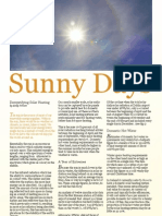 Solar Heating Article