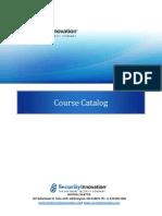 TP Course Catalog