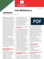 46 - La enfermedad de Alzheimer y la genética