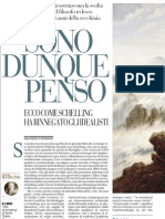 Sono Dunque Penso. MAURIZIO FERRARIS Su Schelling - La Repubblica 11.02.2013