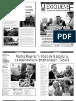 Versión impresa del periódico El mexiquense 11 febrero 2013