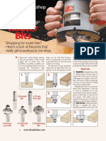 Router Bits Must-have