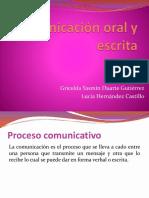 EXPOSICIÓN  DE Comunicación oral y escrita