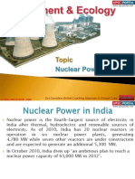 73(A) Nuclear Power in India