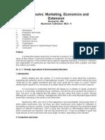 Mushrooms-Marketing Economics and Extension-456