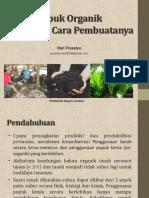 Pembuatan Pupuk Organik Hariprasetyo 2013