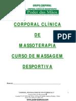 Curso de Massagem Desportiva Clinica