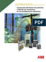 Corrección del factor de potencia y filtrado de armónicos en las instalaciones eléctricas