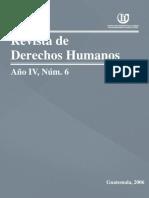 ASIES Revista de Derechos Humanos VI, 2006