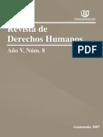 ASIES Revista de Derechos Humanos VIII, 2007