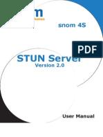 STUN Server Manual
