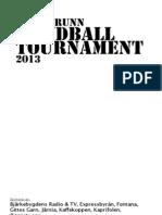 Sollebrunn Handball Tournament 2013