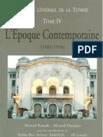 HISTOIRE GENERALE DE LA TUNISIE TOME 4