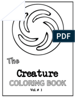 Spore Coloring Book Creatures