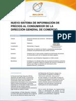 Caso de éxito Sistema de Información de Precios al Consumidor - Dirección General de Comercio