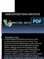 Disconnecting Switch