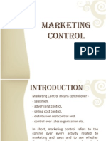 Marketing Control