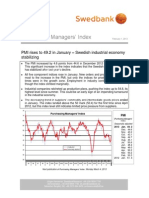 Purchasing Managers´Index - February 1, 2013