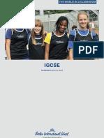 Bis Igcse Handbook 2012 2013